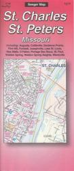 Buy map St. Charles and St. Peters, Missouri by The Seeger Map Company Inc. from Missouri Maps Store