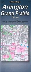Buy map Arlington and Grand Prairie, Texas by The Seeger Map Company Inc. from Texas Maps Store