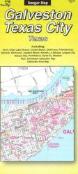 Buy map Galveston and Texas City, Texas by The Seeger Map Company Inc. from Texas Maps Store