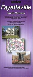 Buy map Fayetteville, North Carolina by The Seeger Map Company Inc.