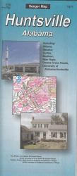 Buy map Huntsville, Alabama by The Seeger Map Company Inc. from Alabama Maps Store