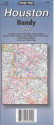 Buy map Houston, Texas Handy Map by The Seeger Map Company Inc. from Texas Maps Store