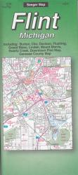 Buy map Flint, Michigan by The Seeger Map Company Inc. from Michigan Maps Store
