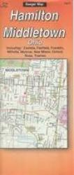 Buy map Butler County and Hamilton, Ohio by The Seeger Map Company Inc. from Ohio Maps Store