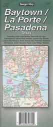 Buy map Baytown, La Porte and Pasadena, Texas by The Seeger Map Company Inc. from Texas Maps Store