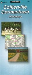 Buy map Collierville and Germantown, Tenneessee by The Seeger Map Company Inc. from Tennessee Maps Store