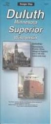 Buy map Duluth, Minnesota and Superior, Wisconsin by The Seeger Map Company Inc. from United States Maps Store