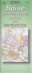 Buy map Boise, Idaho by The Seeger Map Company Inc. from Idaho Maps Store