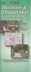 Buy map Durham and Chapel Hill, North Carolina by The Seeger Map Company Inc. from North Carolina Maps Store