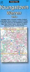 Buy map Youngstown and Warren, Ohio by The Seeger Map Company Inc. from Ohio Maps Store