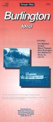 Buy map Burlington, Iowa by The Seeger Map Company Inc. from Iowa Maps Store
