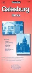 Buy map Galesburg, Illinois by The Seeger Map Company Inc. from Illinois Maps Store