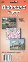Buy map Richmond, Virginia and Vicinity by The Seeger Map Company Inc.