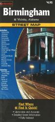 Buy map Birmingham and Vicinity, Alabama by The Seeger Map Company Inc., NorthernStar (Firm) from Alabama Maps Store