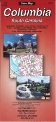 Buy map Columbia : South Carolina by The Seeger Map Company Inc. in South Carolina Map Store