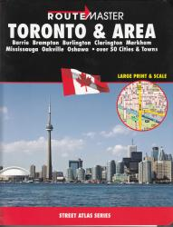 Buy map Toronto and Area, Ontario Atlas by Route Master from Ontario Maps Store