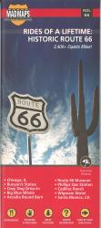 Buy map Rides of a Lifetime: Historic Route 66 by MAD Maps from United States Maps Store