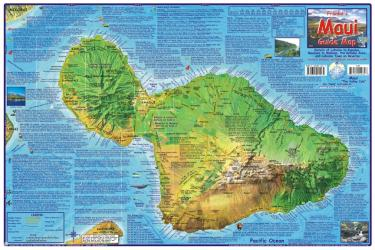Buy map Maui Guide Map, Laminated by Frankos Maps Ltd. from Hawaii Maps Store