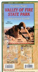 Buy map Valley of Fire State Park Adventure Guide, Folded Map by Frankos Maps Ltd. from Hawaii Maps Store