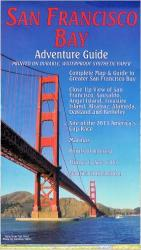 Buy map San Francisco Bay Adventure Guide, Folded by Frankos Maps Ltd.