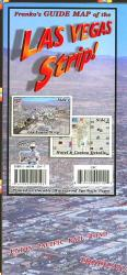 Buy map Las Vegas Strip, Laminated Map by Frankos Maps Ltd.