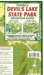 Buy map Devils Lake State Park Adventure Guide by Frankos Maps Ltd. from Wisconsin Maps Store