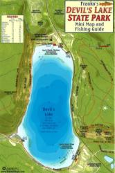 Buy map Devils Lake State Park Fish Card by Frankos Maps Ltd. from United States Maps Store