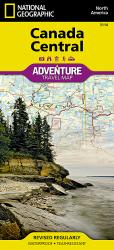 Buy map Canada, Central Adventure Map 3114 by National Geographic Maps from Canada Maps Store