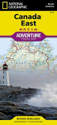 Buy map Canada, East Adventure Map 3115 by National Geographic Maps from Canada Maps Store