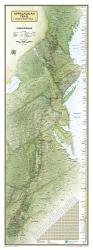 Buy map Appalachian Trail Wall Map, Boxed by National Geographic Maps from United States Maps Store