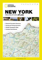 Buy map New York Recreation Atlas by National Geographic Maps