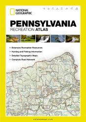 Buy map Pennsylvania Recreational Atlas by National Geographic Maps