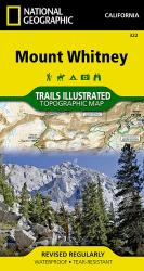 Buy map Mount Whitney by National Geographic Maps