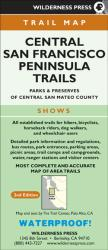 Buy map Central San Francisco, California Peninsula Trails by Wilderness Press from California Maps Store