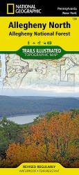 Buy map Allegheny National Forest, North, Map 738 by National Geographic Maps