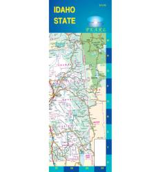 Buy map Idaho, Pearl Map, laminated by GM Johnson from Idaho Maps Store