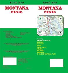 Buy map Montana, Road Map by GM Johnson from Montana Maps Store