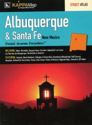 Buy map Albuquerque and Santa Fe, New Mexico, Atlas by Kappa Map Group from New Mexico Maps Store