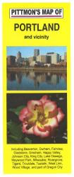 Buy map Portland, Oregon by Pittmon Map Company from Oregon Maps Store