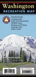 Buy map Washington Recreation Map by Benchmark Maps from Washington Maps Store