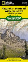 Buy map Absaroka-Beartooth Wilderness, East, Map 722 by National Geographic Maps from United States Maps Store