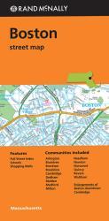 Buy map Boston, Massachusetts by Rand McNally