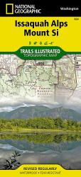 Buy map Issaquah Alps/Mount Si, WA, Map 824 by National Geographic Maps from Washington Maps Store