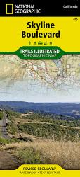 Buy map Skyline Boulevard Parks and Preserves, Map 815 by National Geographic Maps from California Maps Store
