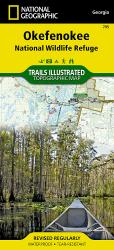 Buy map Okefenokee National Wildlife Refuge, Map 795 by National Geographic Maps from Georgia Maps Store