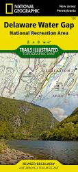 Buy map Delaware Water Gap, Map 737 by National Geographic Maps from United States Maps Store