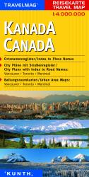 Buy map Canada by Kunth Verlag from Canada Maps Store