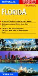 Buy map Florida by Kunth Verlag in Florida Map Store