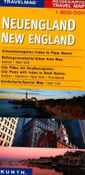 Buy map New England by Kunth Verlag from United States Maps Store