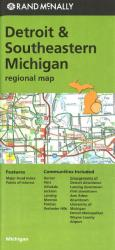 Buy map Detriot and Southeastern Michigan by Rand McNally from United States Maps Store